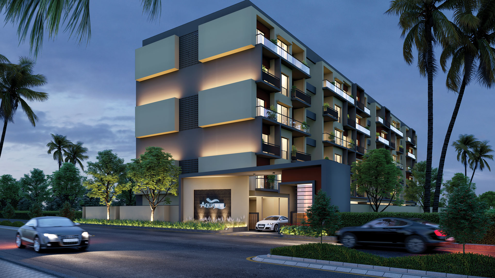 Welcome to Aqua View - A new wave of luxury apartments