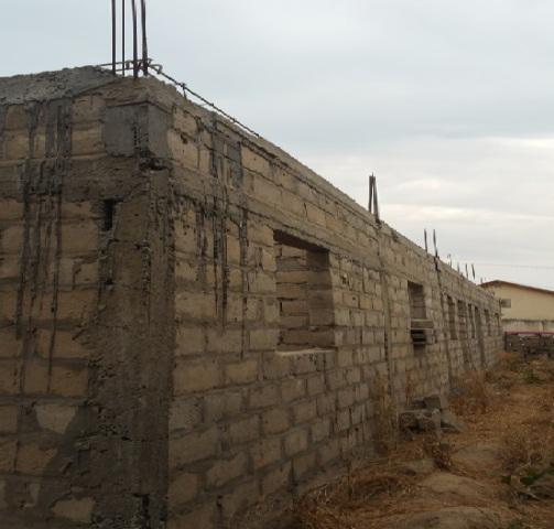 Unfinished 6 bedroom house at fagi kunda