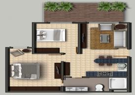 2 bedroom apartment  in forest view (Senegambia)