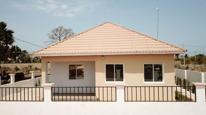 Housing development in Tujereng