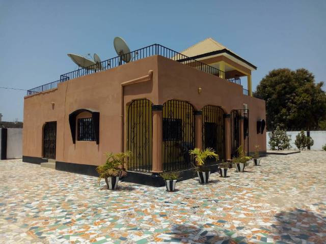 A beautiful fully furnished 3 bedroom house with boys quarters