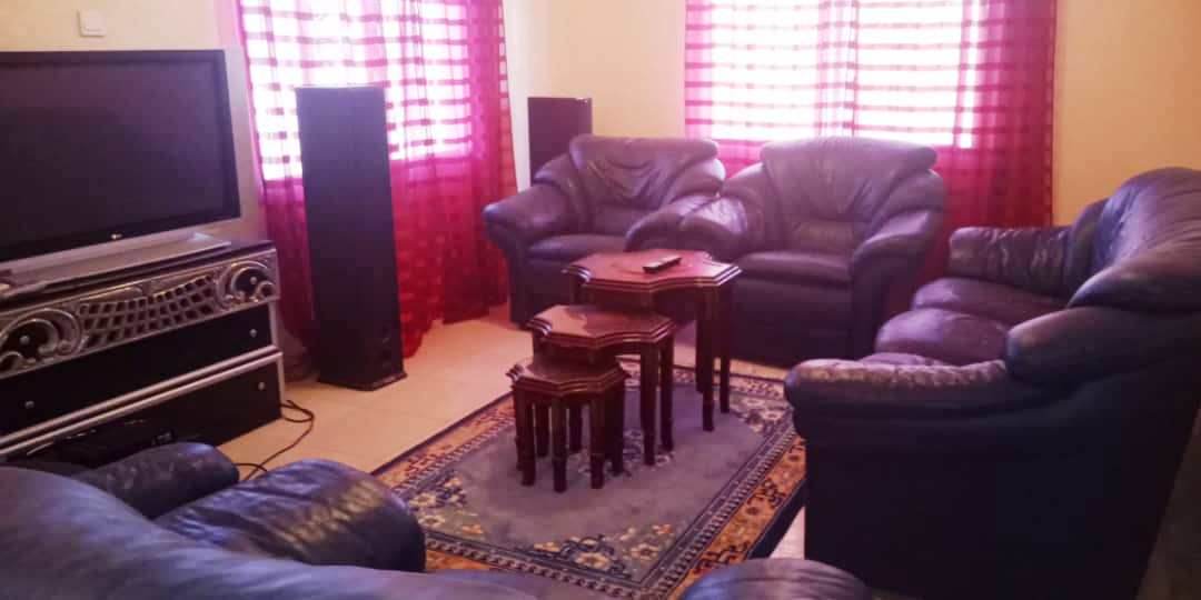 Four-bedroom five bathroom unassuming fully furnished house in