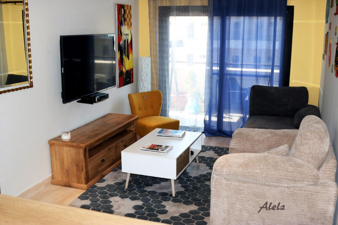 Luxuriously furnished two-bedroom apartment for rent at Forest view Apartments