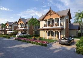 CHERRY HOUSE 3 bedroom story house in BARAKAH estate (Bakoteh)