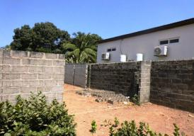 Incomplete 4 bedroom house Located at Bijilo